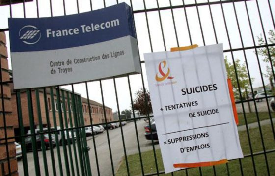 Suicídios na France Telecom em tribunal