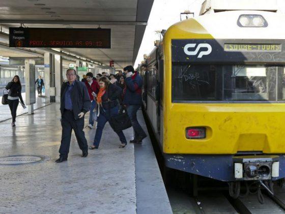 Forte adesão na greve dos ferroviários!