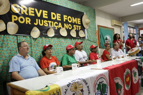 Greve da fome por justiça no Brasil