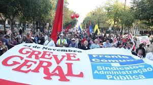 As greves estão a diminuir em Portugal