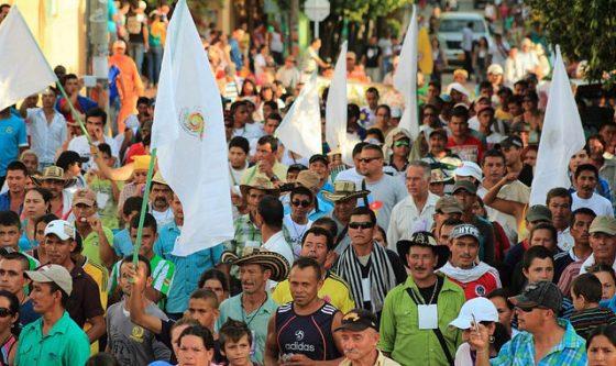Na Colombia quase todos os dias se assassinam líderes sociais