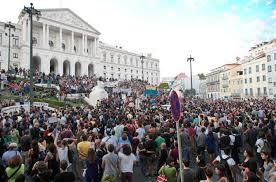 Defesa dos direitos dos trabalhadores é a primeira imagem da CGTP