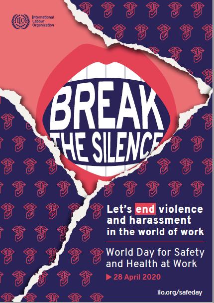 Assédio e violência é o tema do Dia Mundial da Segurança e Saúde no Trabalho