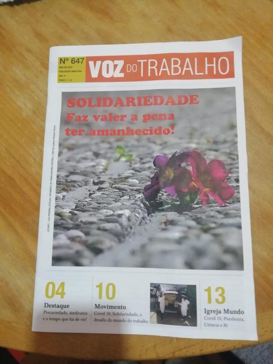 Jornal «Voz do Trabalho» fez 70 anos!