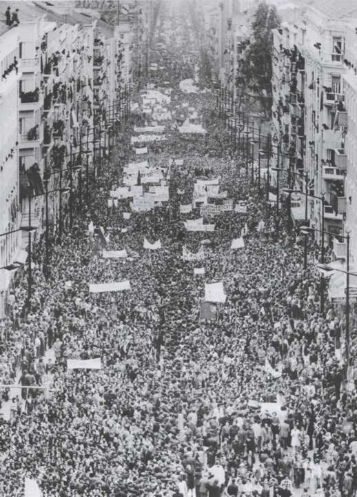 Foi há cinquenta anos….obreiros da Intersindical!