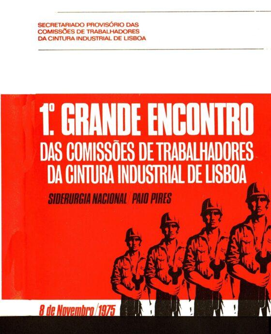 Comissões de trabalhadores debatem futuro em Coimbra