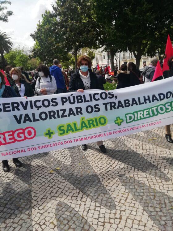 CGTP comemorou o 1º de Maio com milhares de trabalhadores na rua