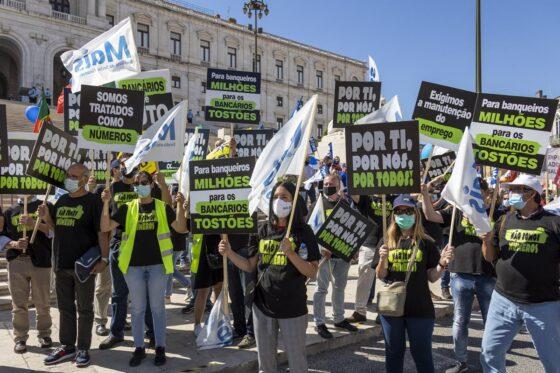 Greve no BCP e Santander na defesa dos postos de trabalho!