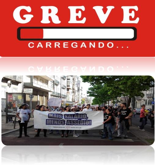 Trabalhadores de call centers da Randstad/Manpower em greve